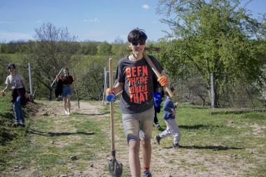Щорічна велика весняна волонтерка в Унежі